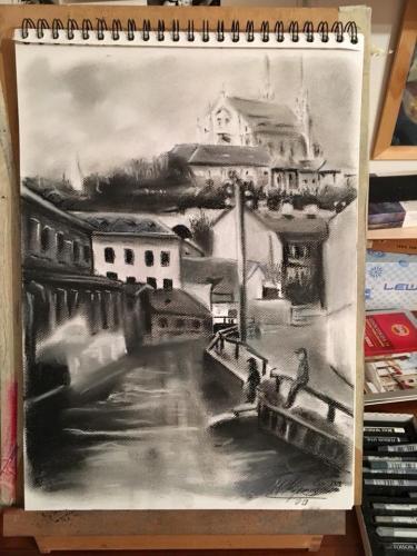 Vodní ulice a Špilberk