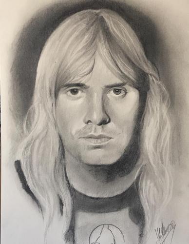 Jeff Hanneman, kytarista kapely Slayer.